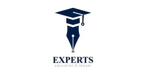 design experts education  lawyer logo