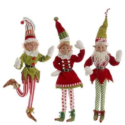 set of three pixie elves frontgate outdoor christmas decorations just ordered these raz decoration set of 3 3 assorted styles set inlcudes one of