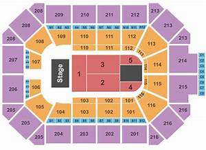 Keybank Center Detailed Seating Chart Allstate Arena Seating Chart With Seat Numbers