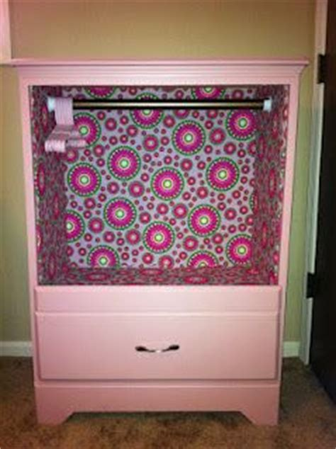 dress up closet using dresser take out drawers and