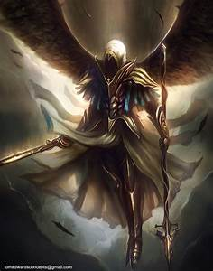 Archangel by TomEdwardsConcepts.deviantart.com on ...