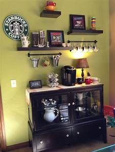 1000 ideas about home coffee bars on pinterest coffee With home coffee bar design ideas