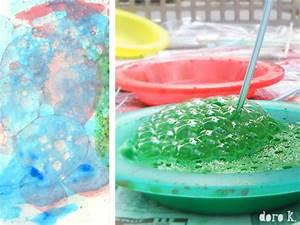 Malen Mit Kindern : seifenblasen auf papier malen mit kindern doro kaiser grafik illustration ~ Orissabook.com Haus und Dekorationen