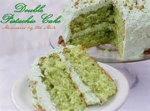 Pistachio Cake Recipe and Frosting