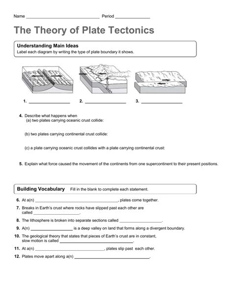 Please feel free to amend the questions to adapt to your own stude. 29 Colliding Continents Video Worksheet Answer Key ...