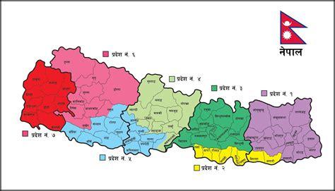 namaste nepal  map  nepal