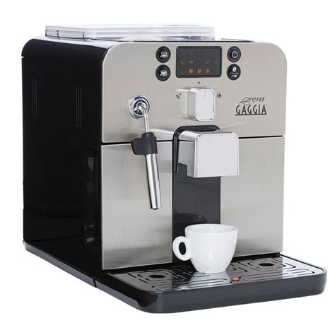 espresso machine black gaggia brera espresso machine in black