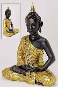 Buddha Figuren Deko : 8800 riesiger deko thailand gold buddha figur statue skulptur feng shui 65 cm ebay ~ Indierocktalk.com Haus und Dekorationen