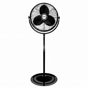 20 U0026quot  Air King Adjustable Height Pedestal Fan   9420