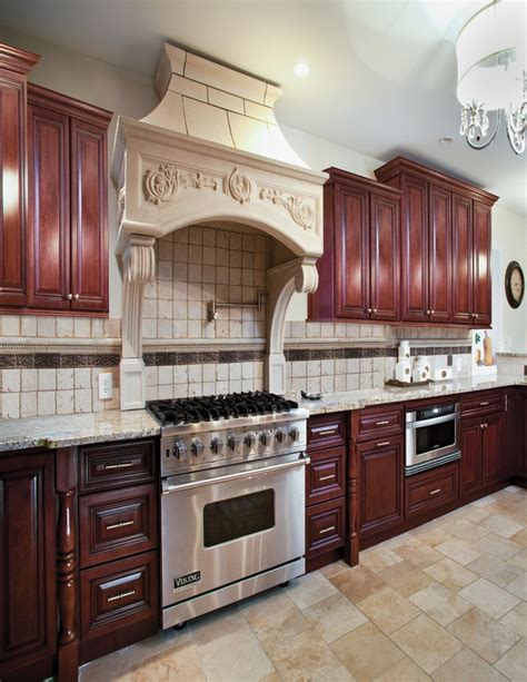 Solid Wood Cabinets Countertop Installation 6300