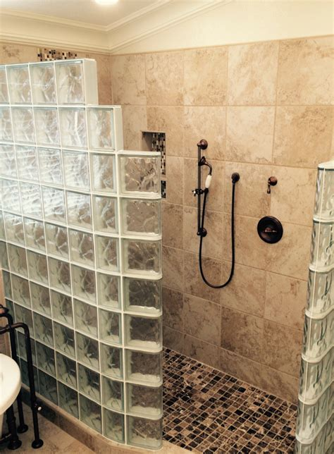 What Are Shower Walls Made Of - glass block and glass brick trends what s and what s