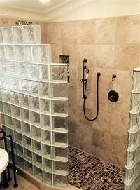 glass shower walls Glass block and glass brick trends – what's hot and what's ...