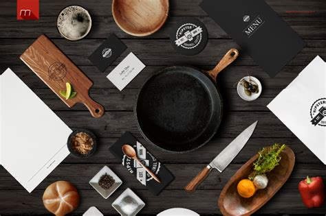 You can now use this square photo frame mockup to showcase your work in a photorealistic look. 20+ Restaurant Branding Mock Up - PSD Download | Design ...
