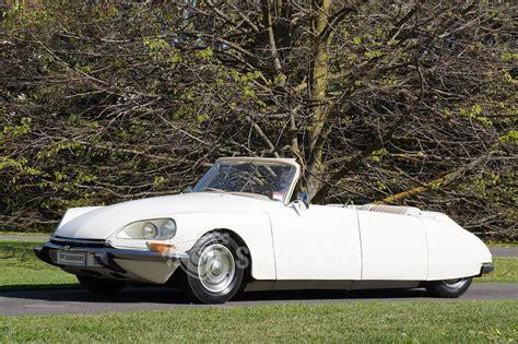 citroen classic ds sold citroen ds pallas convertible modified auctions