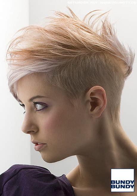 Kurze undercut frisuren haare frauen Kurze Haare