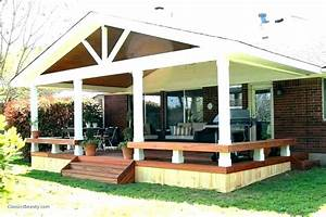 Retractable Awning Wood Patio Covered Deck Shade Over