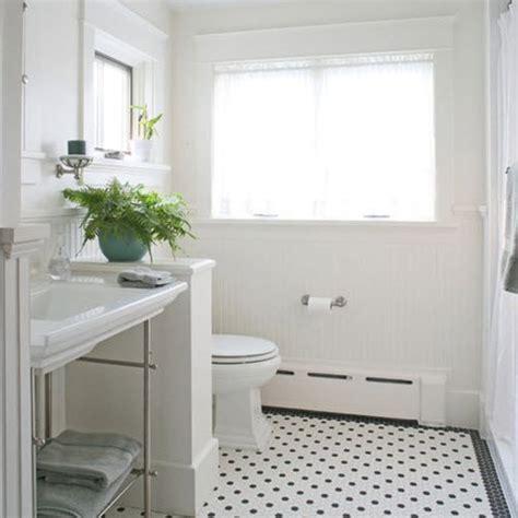 black and white bathroom tile designs 27 black and white octagon bathroom tile ideas and pictures