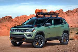Jeep Reveals Grand Cherokee  Wrangler  Compass Concepts