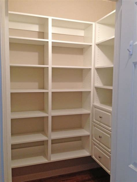 Shelving Pantry Ideas by Simple Pantry Shelving Ideas Loccie Better Homes Gardens