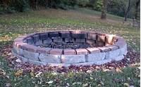 fire pit construction Building an outdoor fire pit with stones | Outdoor furniture Design and Ideas