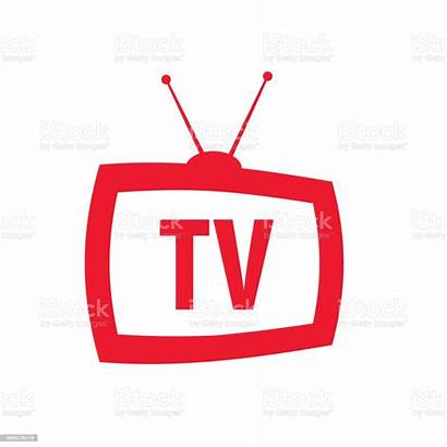 Television Antenna Vector Icon Retro Tv Clip