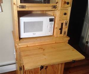 Diy Microwave Stand Plans - Diy (Do It Your Self)
