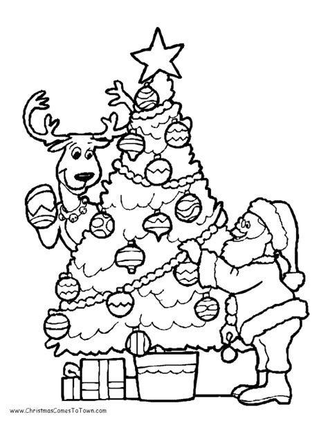 xmas coloring pages az coloring pages
