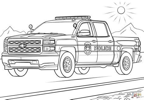 Swat Truck Coloring Pages Gallery