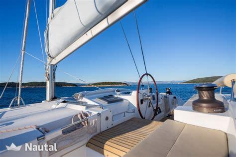 Catamaran Charter Trogir by Katamaran Chartern Lagoon 500 Luxury Im Port Trogir Split