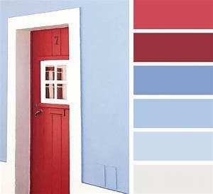 Welche Farben Passen Zu Rot : welche farbe passt zu blau und rot kirschrot himbeerrot grauwei hausfarben farbpalette blau ~ A.2002-acura-tl-radio.info Haus und Dekorationen