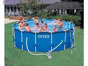 Piscine Tubulaire Intex : piscine tubulaire la piscine intex metal frame ~ Nature-et-papiers.com Idées de Décoration