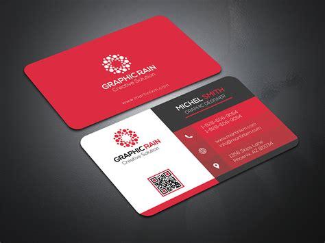 psd business card template  behance