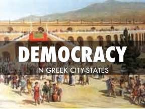Ancient Greek Government Democracy