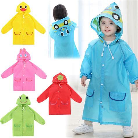 children s raincoat jas hujan anak coat elevenia