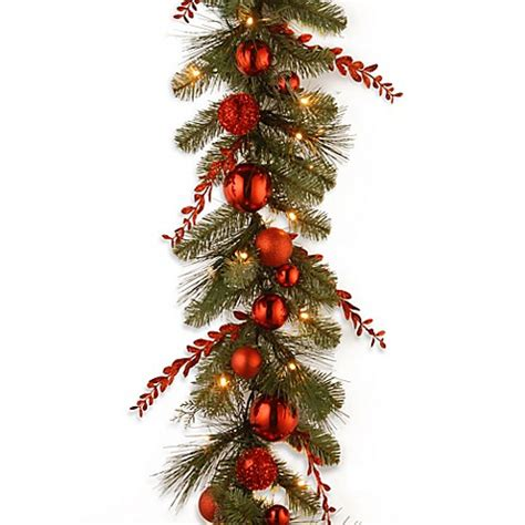 national tree 9 foot decorative collection pre lit mixed