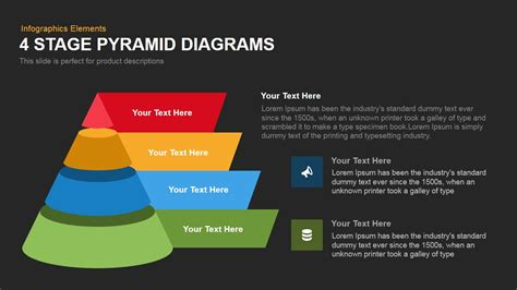 stage pyramid diagrams powerpoint  keynote template slidebazaar