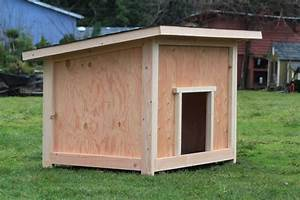 Free large dog house plans awesome dog house plans for Building a big dog house