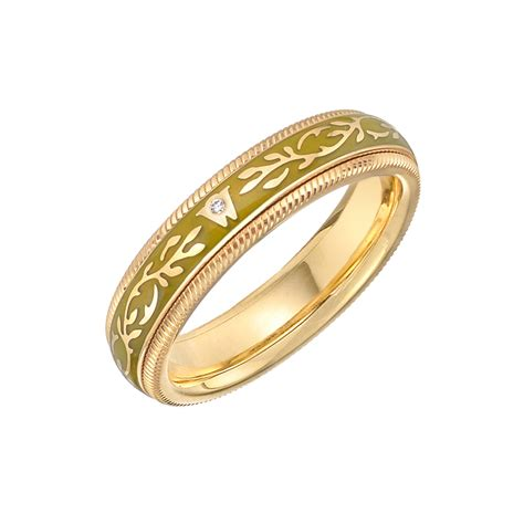 "Wellendorff Enamel ""pistachio Fantasy"" Ring  Betteridge. Basic Engagement Rings. Rare Engagement Rings. Mens Suit Brooch. Man Band. Light Weight Chains. Translucent Beads. Key Diamond. Leo Birthstone Rings"