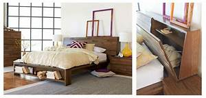 beds with built in storage more than meets the eye With bedhead with storage