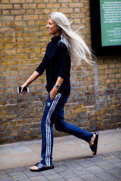 Pants fashion week street style fashion week 2016 joggers pants joggers adidas adidas ...