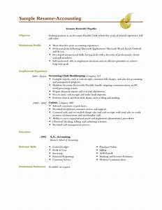 Resume Objective Examples General Accountant Bongdaao