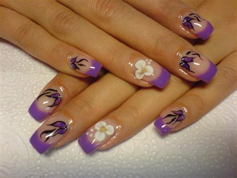 nail design pictures multi colored nail designs