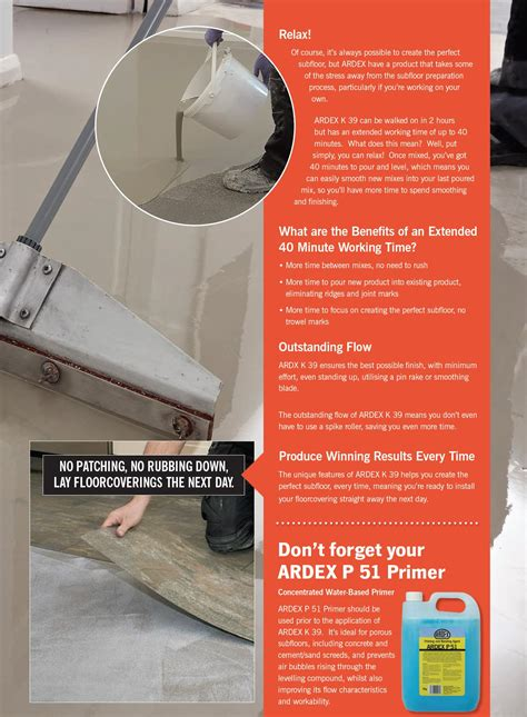 ardex k15 floor leveler 100 ardex floor leveler products self leveling