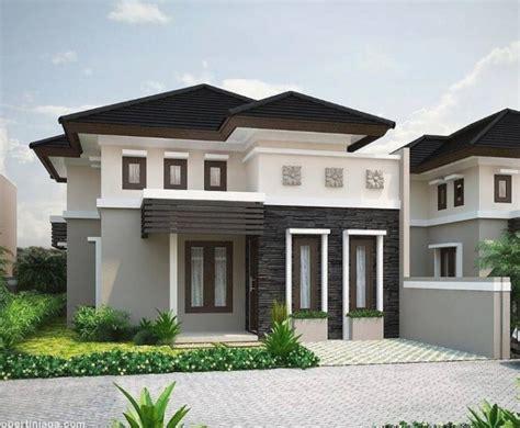 desain eksterior rumah minimalis terbaru  rumah