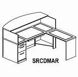 Desk Drawing Getdrawings sketch template