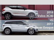 2018 Volvo XC40 vs 2017 Range Rover Evoque technical