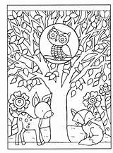 September Coloring Fall Kleurplaten Sheets Bestcoloringpagesforkids Flower Herfst Colouring Leaves Seasons Colors sketch template