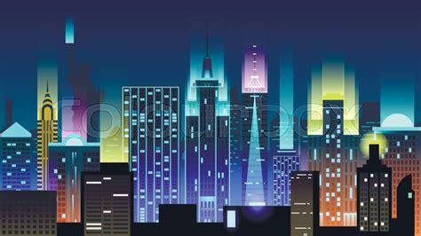vector illustration background city stock vector