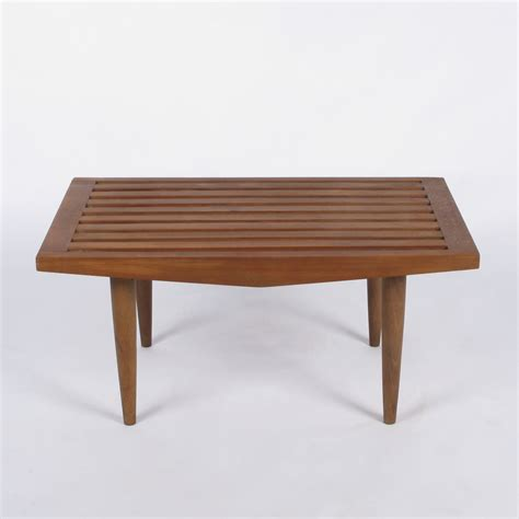 Coffee Bench by Small Slatted Bench Coffee Table At City Issue Atlanta