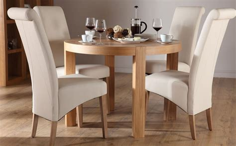 set table et chaises york oak dining table and 4 chairs set richmond